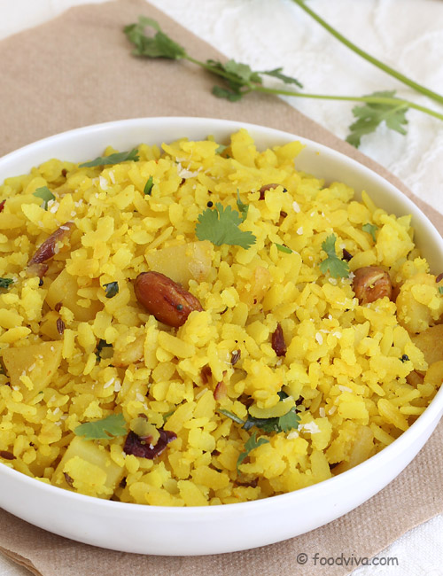 Poha recipe with step by step photos aloo pohe batata poha how to make batata poha forumfinder Image collections