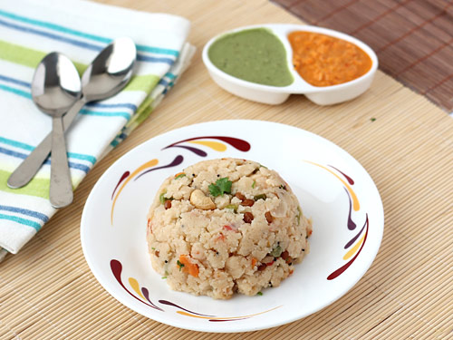 Rava upma recipe make soft and helthy south indian suji upma in lstep forumfinder Gallery