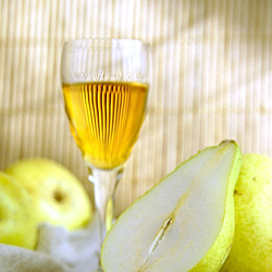 Champagne Pear Cocktail