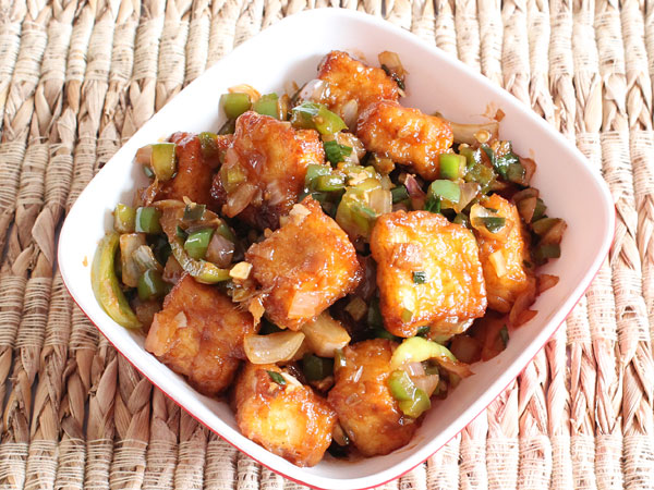Paneer manchurian recipe dry spicy chinese manchurian of paneer dry paneer manchurian forumfinder Images