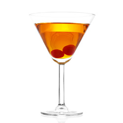Southern Comfort Manhattan Cocktail