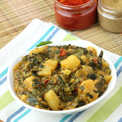 Aloo Methi with Gravy