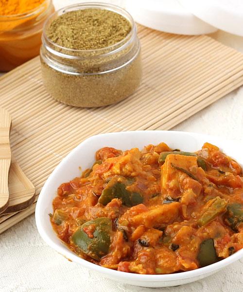 Gravy Kadai Paneer Recipe