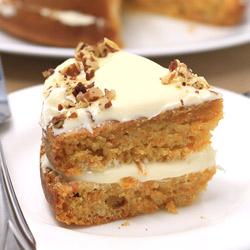Carrot Cake (Eggless)