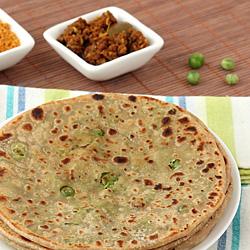 Peas (Matar) Paratha