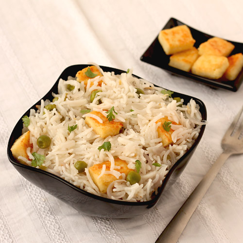 Make Paneer Pulao