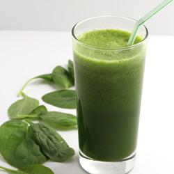 Fresh Spinach Juice
