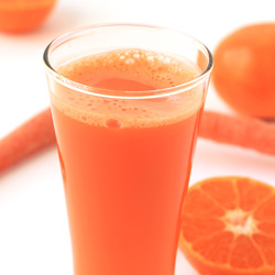 Homemade Orange Carrot Juice