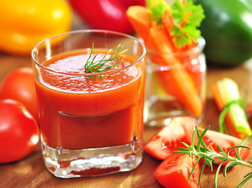 Homemade Tomato Juice Recipe - Refreshingly Tangy and Mild Spicy