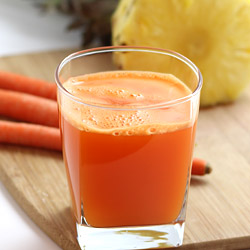 Pineapple Carrot Juice