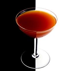 Blood Orange Martini