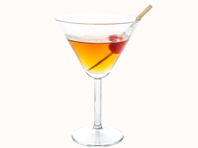 Dry Manhattan Martini