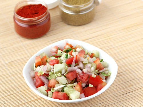 Short article about kachumber salad