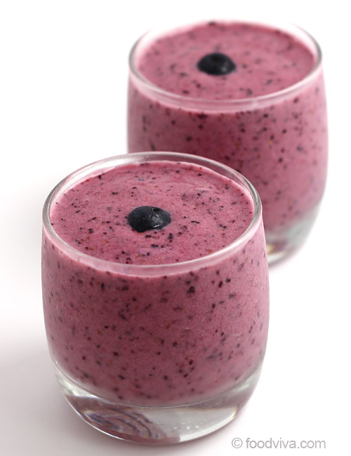 Easy Blueberry Strawberry Smoothie