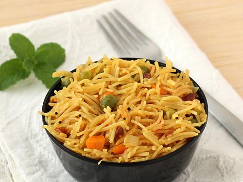 Vegetable Semiya Upma