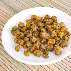 Kurkuri Bhindi (Crispy Bhindi)