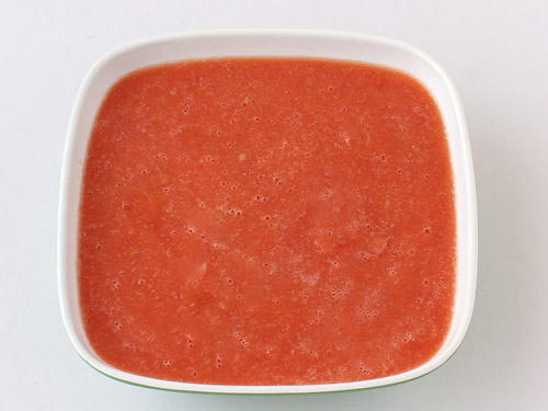 Blanch Tomato and Make Tomato Puree