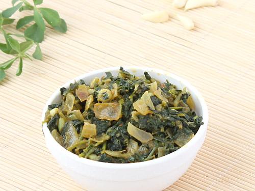 Dry Methi Sabzi