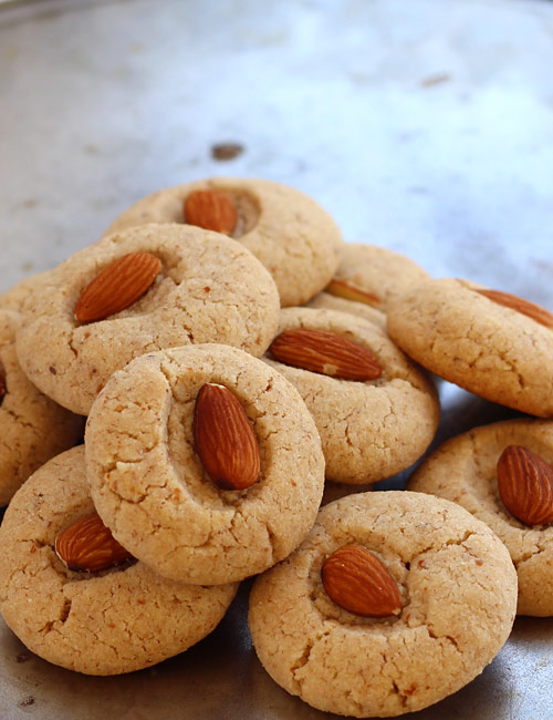 Almond Cookies Recipe with Step by Step Photos