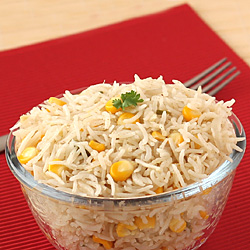 Corn Pulao with Sweet Corn