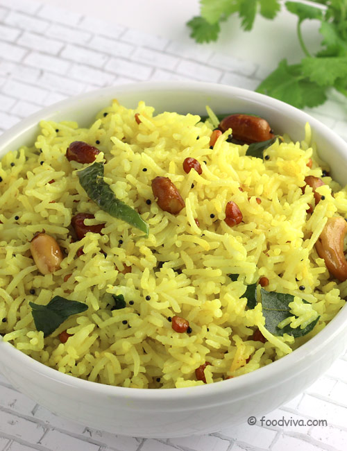 How to Make Lemon Rice