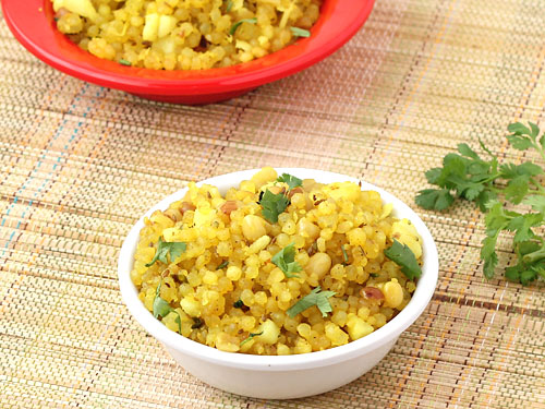 Sabudana Khichdi for Upvas