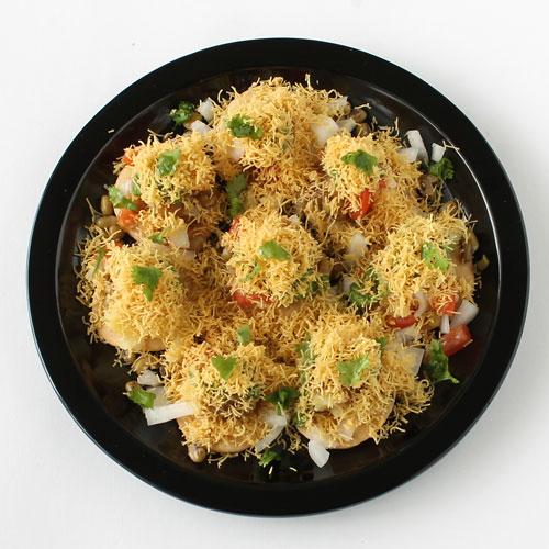 Sev Puri Recipe Tongue Tickling Indian Sev Batata Puri Chaat