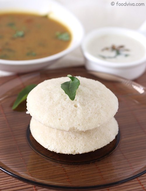 South Indian Rice Idli