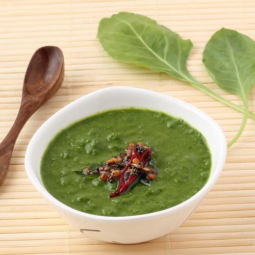 How to make Spinach Masiyal