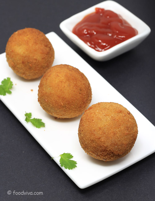 Crispy Potato Balls (Cheese Stuffed) Recipe